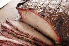 Sliced barbecued brisket - James Baigrie/The Image Bank/Getty Images