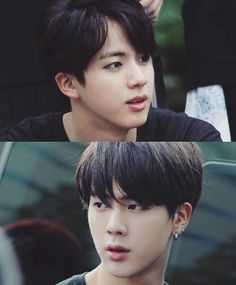 Kim Seokjin looking fabulous in eyeliner