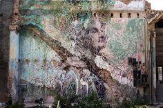 JR  & José Parlá, The Wrinkles of the City, Havana Cuba, Luisa Maria Miranda Oliva (2012)