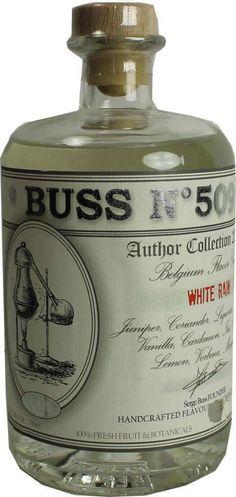 Gin von Buss in der 0,7 l Flasche mit 50 % Vol. Alc.