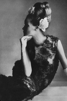 Irving Penn, 1965. www.foreveryminute.com Luxury Silk Lounge and Sleepwear