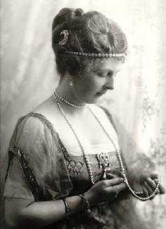Princesse Alice d'Albany (1883-1981), épouse d'Alexandre de Teck