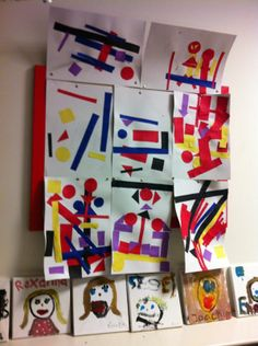 Malevich made by kids from primary school De Hoepel in Amsterdam after visiting the exhibition Malevich and the Russian avant-garde. Art For Kids, Crafts For Kids, Arts And Crafts, Russian Avant Garde, Goodie Bags, Our Body, Primary School, Great Artists, Exploring