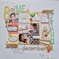 A Project by jeannemw from our Scrapbooking Gallery originally submitted 12/17/13 at 04:17 AM