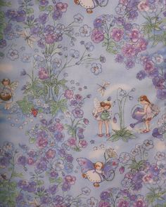 Fabric: Fairy Garden by Becky Kelly for Timeless by MimisTreasureTrove, $7.00
