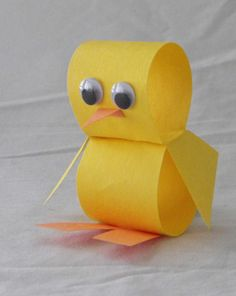 Art/OT Activities: Little Chick super cute!
