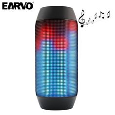 Outdoor Flash Lighter Speaker LED Glow Pulse Lighting Mini Portable Wireless Bluetooth 3D Super Bass Speakers Boombox AUX USB TF
