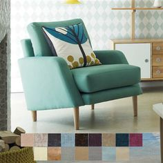 Sidde Chair, Various Fabrics