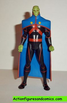 Mattel toys action figures for sale to buy DC universe YOUNG JUSTICE 2011 MARTIAN MANHUNTER 100% COMPLETE condition: excellent. nice paint, nice joints. nothing broken, damaged, or missing. figure siz