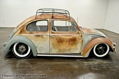 1957 Volkswagen Beetle Air Ride