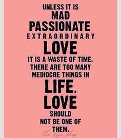 love passionately