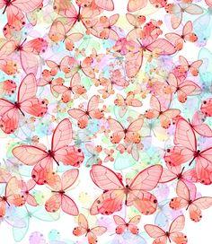 mariposas tonos claros