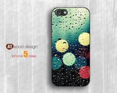 IPhone 5 case New  rain drop design Personalized by Atwoodting, $11.99
