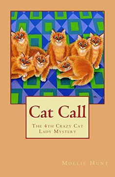I enjoyed reading this cozy mystery book very much by my furr-iend Miss Mollie Hunt!