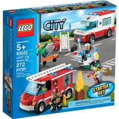 LEGO City Town Starter Set Play Set
