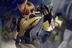 Kamen Rider Zi O, Kamen Rider Series, Dark Warrior, Knight Art, Power Rangers, Godzilla, Raiders, Character Art, Hero