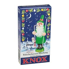 KNOX Variety of Holiday Scented Incense Cones Pack of 24 Made in Germany -- Click on the image for additional details.