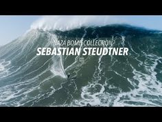 WAIT FOR IT! Professional Big Wave Surfer, Sebastian Steudtner catches one of the Biggest Waves of the season during a recent Giant Swell in Praia do Norte, . Large Waves, Big Waves, Sebastian Steudtner, Big Wave Surfing, Moving To Hawaii, The A Team, First Contact, Fishing Villages, Extreme Sports