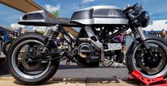 Fly Low II - Ducati Cafe Racer #motorcycles #caferacer #motos | caferacerpasion.com