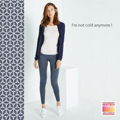 body et legging innerwear Heattech et veste Loungewear Heattech : http://www.princessetamtam.com/