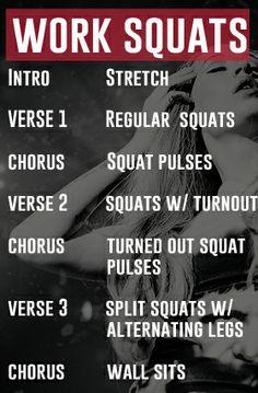 Work- Iggy Azalea Squat Workout