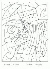 Halloween Color By Letter Witch coloring page (and dragon coloring pages) Make your world more colorful with free printable coloring pages from italks. Our free coloring pages for adults and kids. Halloween Coloring Sheets, Witch Coloring Pages, Coloring For Kids, Printable Coloring Pages, Coloring Pages For Kids, Colouring, Coloring Book, Halloween Pictures, Holidays Halloween