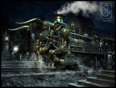 Steampunk wallpaper