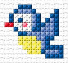 Tiny Cross Stitch, Cross Stitch For Kids, Cross Stitch Bookmarks, Simple Cross Stitch, Cross Stitch Animals, Counted Cross Stitch Kits, Cross Stitch Designs, Cross Stitch Embroidery, Embroidery Patterns