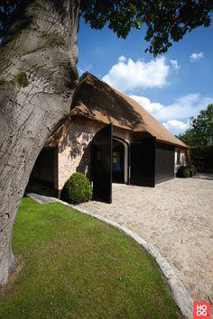 Crown Log Homes - Garage en Carport - Hoog ■ Exclusieve woon- en tuin inspiratie.