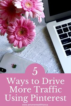 5 Ways to Drive more Traffic to your Site using Pinterest - tips and tricks for how to increase your website traffic using the platform pinterest. #pinterestmarketing #marketing101 Affiliate Marketing, Social Media Marketing, Minecraft Party Food, Tea Blog, Homemade Slime, Virtual Assistant Services, Your Website, Group Boards, How To Make Tea