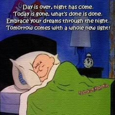 Good night. Sleep peacefully everyone. Much love to you all.