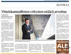 Yhteiskunnallisten yritysten Arvo-liitto perustettiin syyskuun alussa 2014. Juttu Helsingin Sanomissa 3.9.