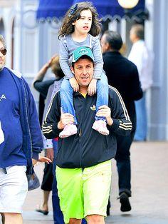 Adam Sandler with his daughter Sadie