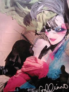 Collage by John Galliano, 2010