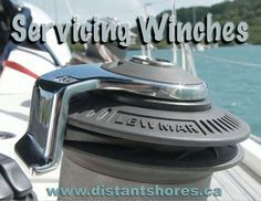 Maintaining the winches on your sailboat improves sailing performance and prevents accidents. A blog and video on the process. #boatmaintenance #livingonaboat