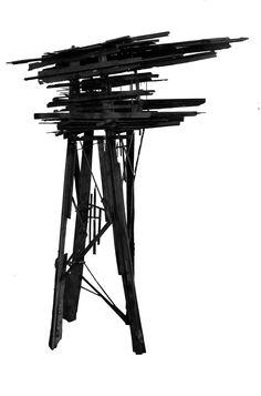 "polychroniadis: ""'Stilthouse' by Arne Quinze. """