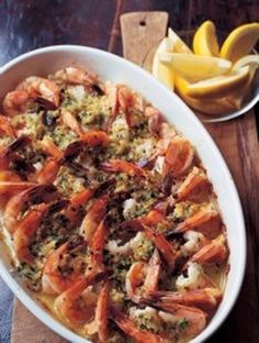 Barefoot Contessa - Baked Shrimp Scampi