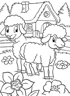 Velikonoční omalovánky | Předškoláci - omalovánky, pracovní listy