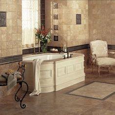 Decorative tile inserts