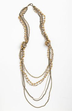 Bonnie Jonas Multistrand Necklace available at #Nordstrom