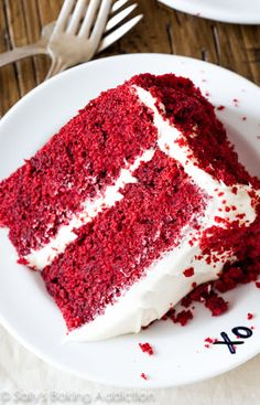 Red Velvet Layer Cake with Cream Cheese Frosting Recipe on Yummly