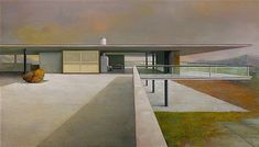 A Quiet Tribute to Modern Concrete Architecture