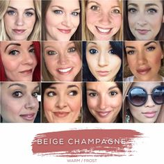 BEIGE CHAMPAGNE - Love this shade? You can order it here: www.lastinglip.ca If it's currently out of stock, it wont be listed on the website so feel free to message me via my Facebook Page at www.facebook.com/lastinglip and I'll get you one. #lipsense #beigechampagne #lastinglip #senegence