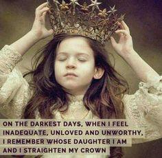 Adjust my crown