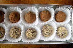 ~ ~ ~ ~ ~ ~ ~ ~ Fun Receita World ~ ~ ~ ~ ~ ~ ~ ~: Melt - In - Seu - Boca Chocolate Amargo Coco Trufas Petróleo Receita