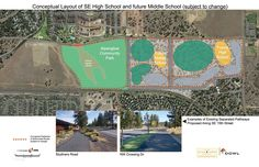 What do you think about the @bendlapineschools' first look at the location for the community's next large high school (15th & Knott #inBend)? Thanks to a land trade, the new location will abut more than 30 acres of the new Alpenglow Park and provide room for a future middle school...thoughts? Share away!  #bendlapineschools #schools #parks #bendoregon #growth #economy