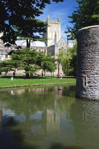 Wells Cathedral, Wells, Somerset, UK