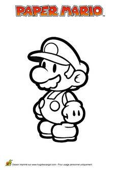 Donkey kong coloring pages 80s cartoons colouring pages - Video paper mario la porte millenaire ...