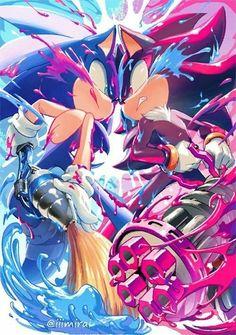Shadow The Hedgehog, Sonic The Hedgehog, Hedgehog Movie, Silver The Hedgehog, Photo Manga, Sonic Mania, Sonic Franchise, Sonic Adventure, Sonic Heroes
