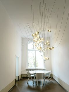 Contemporary Chandeliers For Dining Room Amusing Poc Suspension Lamp Detail Contemporary Dining Room Lighting Design Decoration